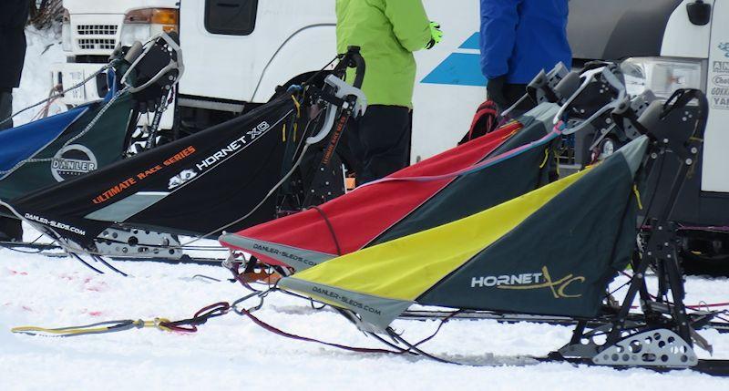 改良されたレース用橇
